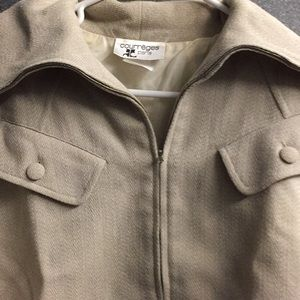 Original Courreges suit (skirt and jacket) 🎼❤️